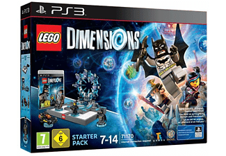 PS3 LEGO Dimensions starterpack