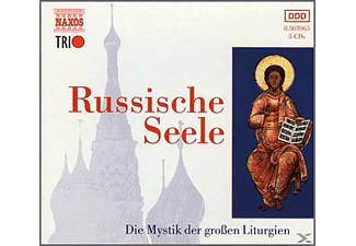 Novospassky Monastery Choir - Russische Seele - (CD)