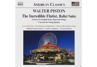 Glen Danielson, Therese Elder Wunrow, Gerard Schwarz, Juilliard String Quartet - The Incredible Flutist - (CD)