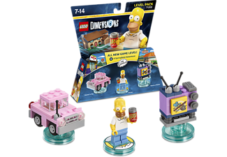 WARNER BROS GAMES. LEGO Dimensions Level Pack: The Simpsons
