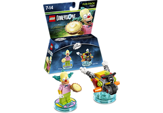 WARNER BROS GAMES. LEGO Dimensions Fun Pack: Krusty