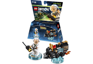 WARNER BROS GAMES. LEGO Dimensions Fun Pack: Doc Brown