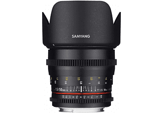 SAMYANG 50mm T1.5 VDSLR AS UMC II Canon