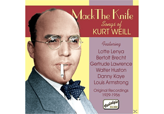 Kurt Julian Weill, VARIOUS - Mack The Knife-Lieder - (CD)