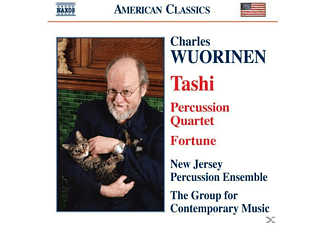 GROUP CONT.MUSIC, Group F.Contemp.Music/+ - Tashi/Percussion Quartet/Fortune - (CD)
