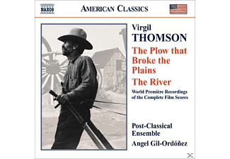 Post, Angel/Post-Classical Ens. Gil-ordonez - Plow That Broke The Plains/River - (CD)