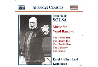Royal Artillery B, Brion/Royal Artillery Band - Music For Wind Band Vol.6 - (CD)