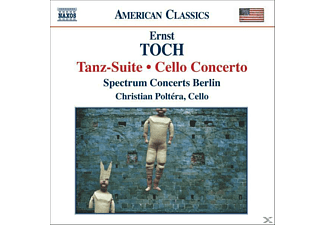 VARIOUS, Dodge, Krug, Poltera, Poltera/Sprectrum Concerts - Tanz-Suite/Cellokonzert - (CD)