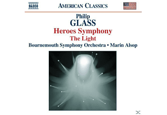 Philip Glass, Marin Bournemouth Symphony Orchestra & Alsop - Heroes Symphony - (CD)
