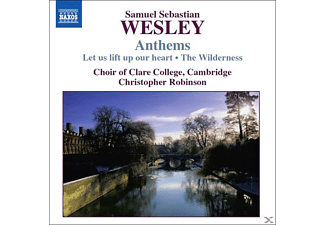 Robinson/Clare College Choir - Anthems - (CD)