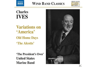 "United States Marine B, Foley/President's Own Us Marine Band - Variations On ""America""/+ - (CD)"