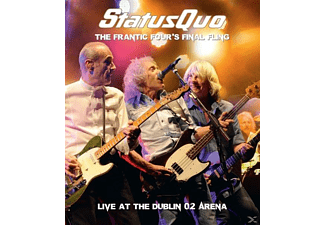 Status Quo - Frantic Four's Final Fling-Live In Dublin - (Blu-ray + CD)