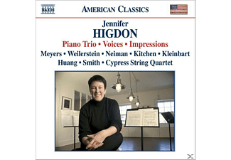 Jennifer Higdon, VARIOUS - Klaviertrios/Voices/Impressions - (CD)