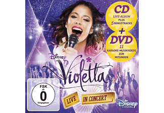 Violetta - Violetta: Live In Concert (DLX, Staffel 2, Vol.2) [CD + DVD Video]