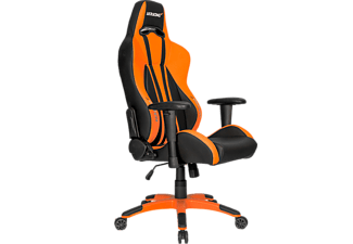 AKRACING Premium Plus Gaminstol Svart/Orange