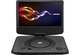 LENCO DVP-9331, Tragbarer DVD Player, 22.5 cm (9 Zoll)