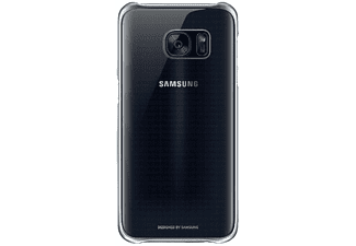 SAMSUNG Clear Cover Galaxy S7 - Svart