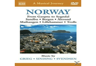 A Musical Journey / Norway - (DVD)