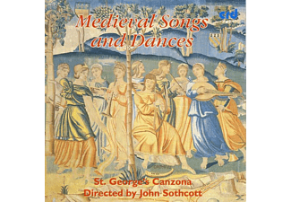 Sothcott/St.Gearges Canzona - Medieval Songs And Dances - (CD)