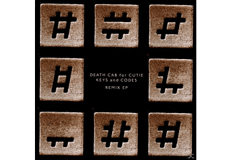 Death Cab For Cutie - Keys And Codes (Remix Ep) [CD]