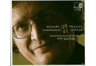Freiburger Barockorchester - Sinfonien 38 Prague & 41 Jupiter - (CD)