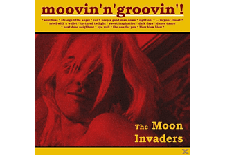 The Moon Invaders - Moovin'n'Groovin'! - (CD)