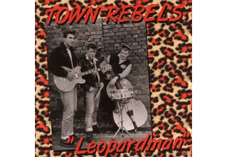 Town Rebels - Leopardman - (CD)