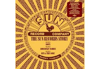 VARIOUS - The Sun Records Story-Box Set - (Vinyl)
