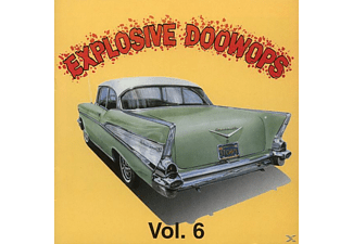 VARIOUS - Vol.6, Explosive Doo Wop - (CD)