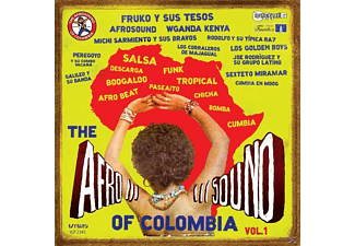 VARIOUS - Afrosound Of Colombia - (CD)