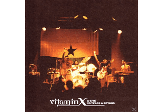 Vitamin X - A-Live 25 Years And Beyond - (CD)