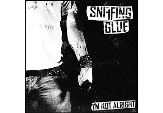 Sniffing Glue - I'm Not Alright - (CD)