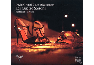 David & Les Dissonances Grimal - Les Quatre Saisons - (CD)