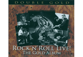 VARIOUS - Rock N Roll Live The Gold Album - (CD)