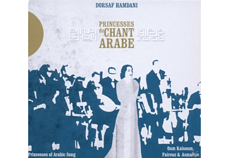 Dorsaf Hamdani - Princesses Du Chant Arabe - (CD)