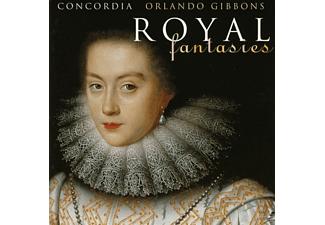 Levy, Concordia - Gibbons/Royal Fantasies Vol.1 - (CD)