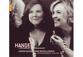 Il Complesso Barocco, M.-N. Lemieux, K. Gauvin - Streams Of Pleasure-Opernarien Und Duette - (CD)