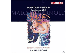 Richard Hickox - Sinfonien 5+6 - (CD)