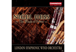 Hess, London Symp.Wind Orch., Hess/London Symp.Wind Orch. - The Winds Of Power - (CD)