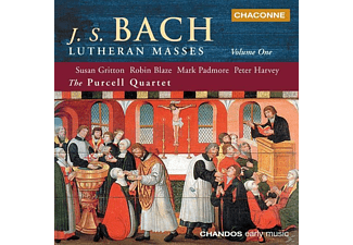 The/+ Gritton/purcell Quartet - Lutheran Masses Vol.1 - (CD)