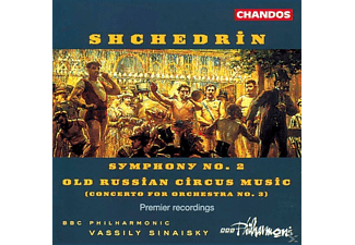 Vassily/bbcp Sinaisky - Sinf.2/Old Russian Circus M. - (CD)
