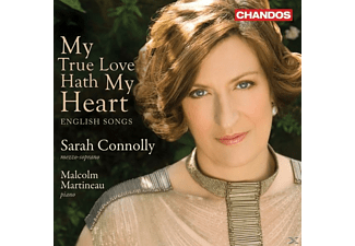 CONNOLLY,SARAH & MARTINEAU,MALCOLM - My True Love Hath My Heart (English Songs) - (CD)