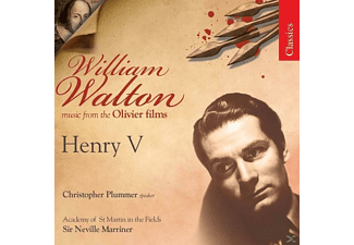 VARIOUS, Plummer/Marriner/AMF - Filmmusik: Henry V - (CD)