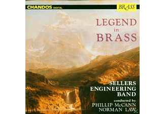Sellers Engineering Band - Legends In Brass - (CD)