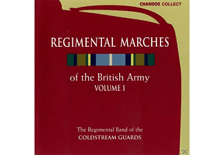 Regimental Band Of The Coldstream, The Regimental Band Of The Coldstream Guards - Regimental Marches O.T.Brit.1 - (CD)
