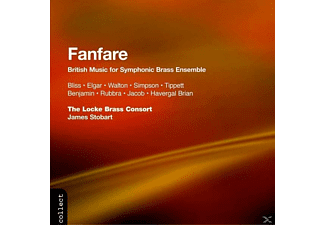 Stobart, The Locke Brass Consort, Stobart/Locke Brass Consort - Fanfare-British Music F.Symph. - (CD)