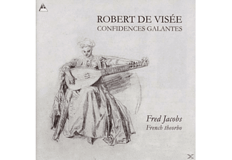 Jacobs Fred-french Theorbo - Confidences galantes - (CD)