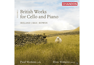 John Ireland, Paul Watkins, Huw Watkins - British Works For Cello And Piano - (CD)