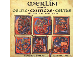 VARIOUS, Eduardo Paniagua - Merlin-Celtic Cantigas - (CD)