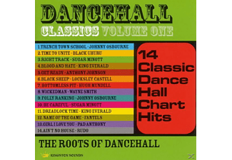 VARIOUS - Dancehall Classics, Volume 1 - (CD)